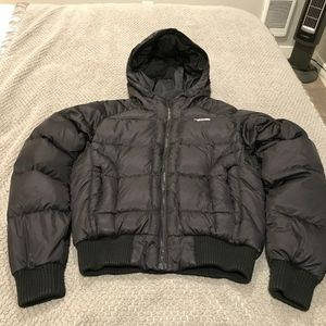 North Face women's short puffer coat